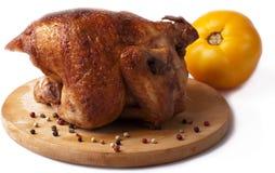 Un pollo asado Imagen de archivo libre de regalías