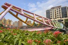 Un pont coloré Image stock