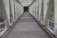 Un pont de manière de promenade Photo libre de droits