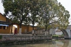 Côté de rivière Photos libres de droits