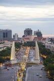 Un pont Thaïlande de strang de regard Images libres de droits
