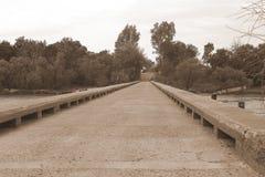 Un pont trop loin Image libre de droits
