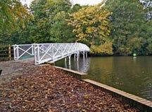 Un ponte a lontano Fotografie Stock Libere da Diritti