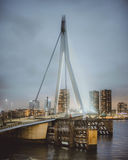 Un ponte molto in alto fotografia stock