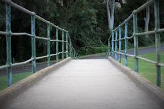 Un ponte nel parco Australia di paramatta Fotografia Stock Libera da Diritti