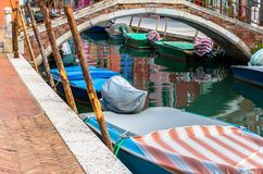 Ponte di Burano Immagini Stock