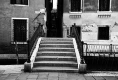 Un ponte a Venezia Fotografia Stock Libera da Diritti
