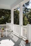 Un porche du sud Photographie stock