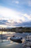 Un port paisible Photographie stock