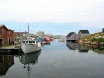 Un port tranquille photo libre de droits