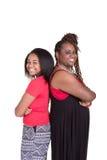 Un portrait d'une mère et de sa fille adolescente Photographie stock libre de droits