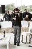 Un portrait de capossela de vinicio Image libre de droits