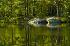 Un posto calmo Fotografie Stock