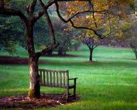 Un posto da sedersi con effetto dipinto fotografia stock