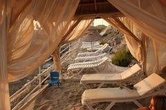 un posto di rilassamento sulla vacanza Immagine Stock