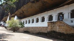 Un posto importante nel buddismo in Sri Lanka fotografie stock libere da diritti
