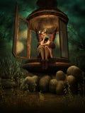 Un posto segreto di Elven, 3d CG Immagine Stock Libera da Diritti