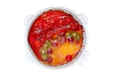 Un postre de la fruta Foto de archivo libre de regalías