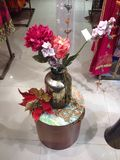 Un pot de fleur Image libre de droits
