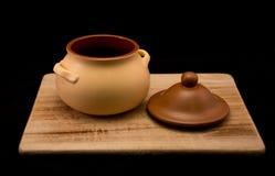 Un pot pour le gruau 2 Images stock