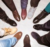 Un pour tous et tous pour un - concept de travail d'équipe Images libres de droits