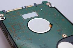 Un primer de un disco duro para la tecnología de almacenamiento de los datos en un ordenador HDD Imágenes de archivo libres de regalías