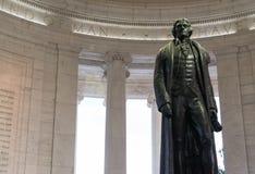 Un primer de la estatua de Thomas Jefferson fotografía de archivo
