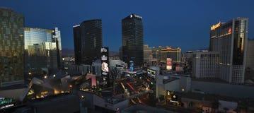 Un primo mattino Harmon e colpo di Las Vegas Blvd Fotografia Stock Libera da Diritti