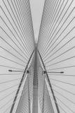 Un primo piano del ponte di Sri Wawasan fotografie stock libere da diritti