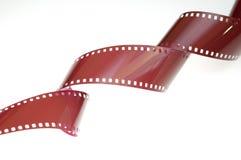 Un primo piano della pellicola di 35mm Immagine Stock