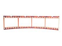 Un primo piano di 35 millimetri flim-mette a nudo (scelga) Fotografie Stock
