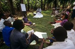 Un progetto di autorizzazione della comunità, Uganda. Immagini Stock