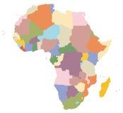 Un programma dell'Africa Immagini Stock