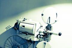 Un projecteur de vieux films des années 1940 photographie stock