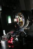 Un proyector de película moderno de 35m m Foto de archivo libre de regalías