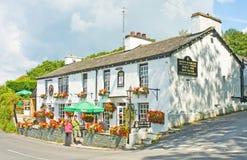 Un pub inglés perfecto. Foto de archivo libre de regalías