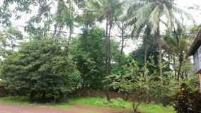 Un pueblo de Goan Fotografía de archivo