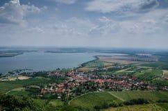 Un pueblo de Moravian Fotos de archivo libres de regalías