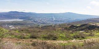 Un pueblo del Druze en Golan Heights en Israel imágenes de archivo libres de regalías
