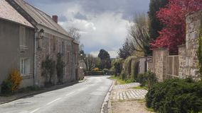 Un pueblo francés Imagen de archivo