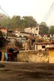 Un pueblo pobre en la India Imagen de archivo libre de regalías