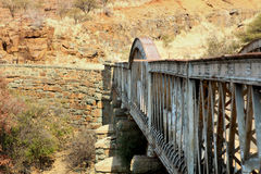 Un puente Foto de archivo libre de regalías