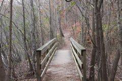 Un puente a cruzar Fotografía de archivo libre de regalías