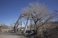 Un puente de acero viejo imagen de archivo libre de regalías