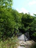 Un puente de madera Imagenes de archivo