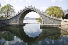 Un puente de piedra Foto de archivo libre de regalías