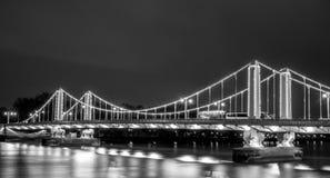 Un puente en Londres Fotos de archivo libres de regalías