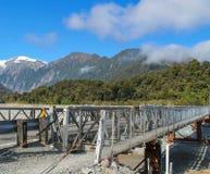 Un puente Franz Josef de la manera Imagen de archivo
