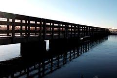 Un puente a lejos fotografía de archivo