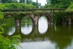 Un puente viejo Fotos de archivo